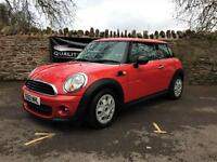 Mini Mini 1.6 First 2010 60 plate Petrol 3 door hatchback in red