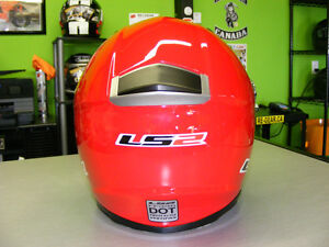 LS2 - Full Face Helmets - Red - NEW - All Sizes at RE-GEAR Kingston Kingston Area image 3