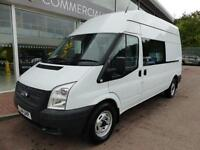 Ford Transit Tdci 350 Lwb High Roof Welfare Mess Unit Utility