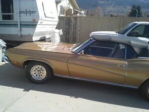 1970 Mercury Cougar Convertible - Reduced to Sell