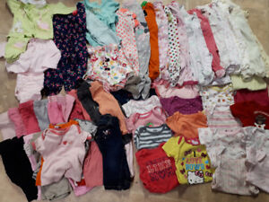 0-6months baby girl clothes