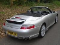 2000 W Porsche 911 3.4 auto Carrera Tiptronic S Convertible GT3 AERO KIT