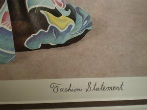 "John Newby - "" Fashion Statement "" Signed Print Kitchener / Waterloo Kitchener Area image 6"