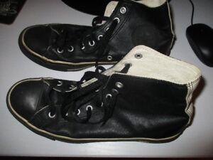 Converse Chuck Taylor All star Cuir noir