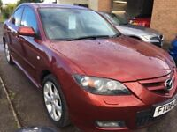 Mazda 3 2.0 Sport Saloon **30 DAY ENGINE AND GEARBOX WARRANTY INCLUDED**