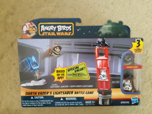 ANGRY BIRDS STAR WARS: DARTH VADER'S LIGHTSABER BATTLE GAME