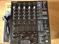 Behringer djx750 4 channel effects mixer