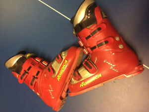 ski boots, Nordic Grand Prix 90 flex 9.5 mens