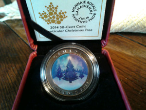 2014 50-CENT LENTICULAR CHRISTMAS TREE COIN FOR SALE