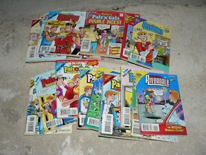 TALES FROM RIVERDALE & MISC. DBL DIGEST COMIC BOOKS