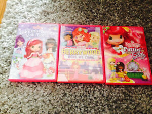 Strawberry Shortcake set of 3 movies