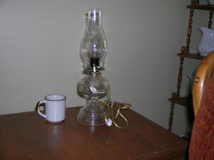 "Electric ""oil"" lantern with shade Kitchener / Waterloo Kitchener Area image 2"