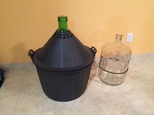 Winemaking carboys