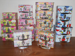 Mixture of 23 different sized Decorative Boxes