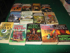 Terry brooks books $1 each or $10 for the lot St. John's Newfoundland image 1