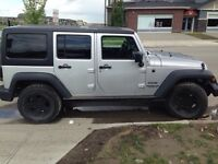 2011 JEEP WRANGLER UNLIMITED SPORT NEW TIRES/ LED BAR