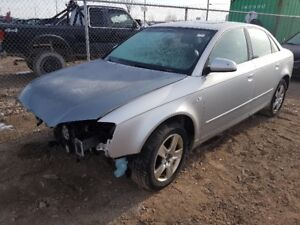 2006 AUDI A4  JUST IN FOR PARTS AT PIC N SAVE! WELLAND
