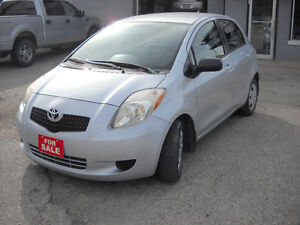 2007 TOYOTA YARIS  AUTOMATIC REDUCED PRICE $ 4295