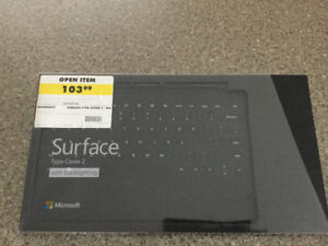 Microsoft Surface Type Cover 2 with backlighting.