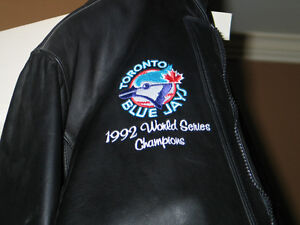 Add 20151992 world series leather coat custom made one of a kind Peterborough Peterborough Area image 2