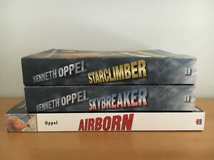Kenneth Oppel (3 books)
