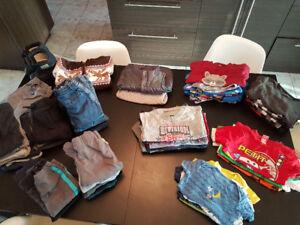 Lot de vêtements bébé garçon 12-24 mois.