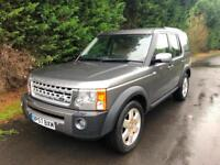 2008 LAND ROVER DISCOVERY 3 HSE 2.7 TDV6 AUTOMATIC 4X4 7 SEATER TURBO DIESEL