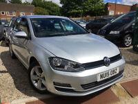 ✿15-Reg Volkswagen Golf 1.6 TDI BlueMotion Tech Match 5dr ✿VERY LOW MILEAGE✿