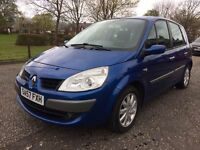 2007 (57) RENAULT SCENIC 1.6, 1 YEAR MOT, ONLY £1095