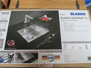 REDUCED!!! AGAIN!!!! $150 Blanco New in Box Stainless Steel Sink