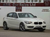 BMW 1 SERIES 116I SPORT 5DR(LOW MILEAGE+2 OWNER+JUST SERVICED+MOT16/09/2021)