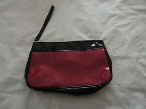 Lancome red/black makeup pouch bag wristlet Brand new London Ontario image 1