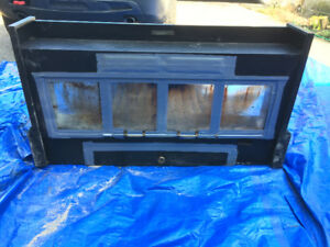 electric wood burning stove insert
