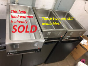 Classic APW Wyott FOOD WARMERS, MODEL W-43V, W-3V For Sale !!!!!