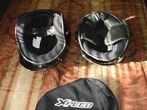 2 helmets for 80.00 ,and a XL Motorcycle cover for 40.00 Stratford Kitchener Area image 2