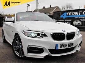 2016 BMW 2 SERIES M235I AUTOMATIC 2DR CABRIOLET PETROL CONVERTIBLE PETROL