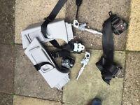 SXI corsa d seat belts