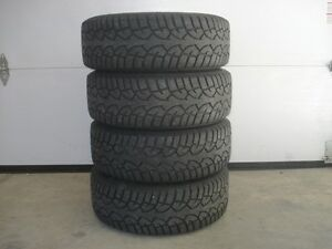 4 winter tires General Altimax on rims 5x114