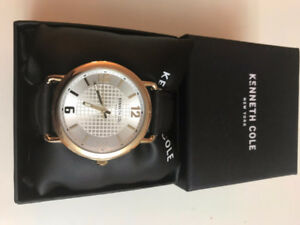 Kenneth Cole with leather strap