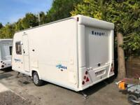 2007 Bailey Ranger 460/4 4 Berth caravan FIXED BED Light To Tow Bargain !