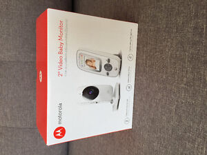 Baby monitor in box