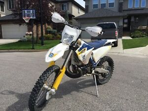 2015 Husqvarna TE 300 with $5000 in extras!!!