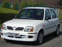 NISSAN MICRA 1.0 16v 2001 S, 2 OWNERS,LOW MILEAGE,FULL SERVICE,EXCELLENT CON
