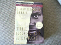 SIGNED THE BOOK OF NEGROES BY LAWRENCE HILL