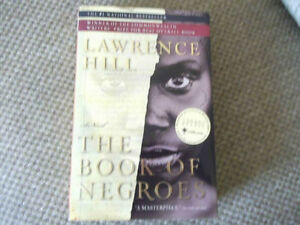 SIGNED THE BOOK OF NEGROES BY LAWRENCE HILL Cornwall Ontario image 1
