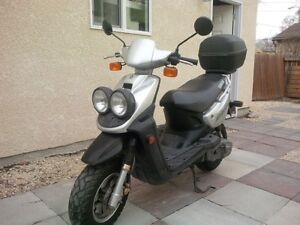 Yamaha BWS - an awesome scooter