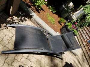 Reclining Patio Lounger