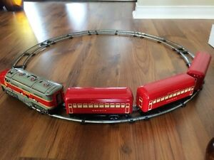 REDUCED Marx Monon Train Set