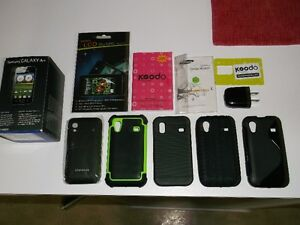 cell cellulaire samsung galaxy ace gt-s5830d 4 cases!