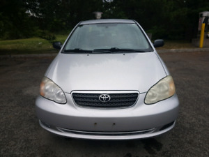 2005 toyota corolla ce,  Sedan,certified,warranty